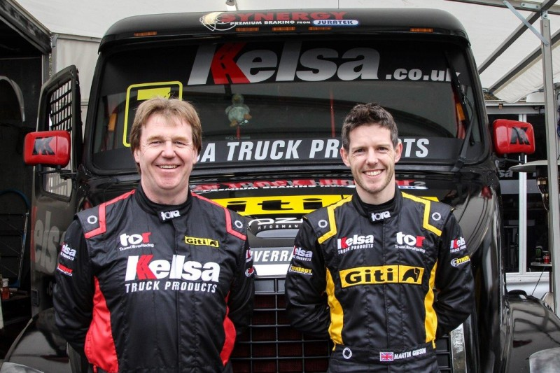 Giti Race-Tuned v1 racing truck tyre in BTRC 2018