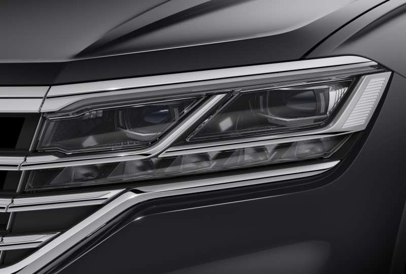 Hella LED Matrix Headlamps for the new VW Touareg