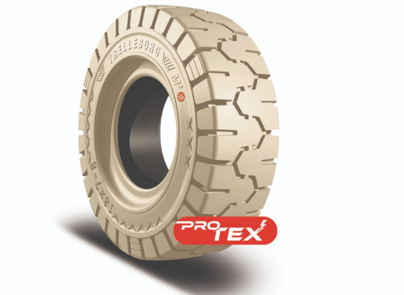 Trelleborg non-marking tyres gain conductivity with ProTex