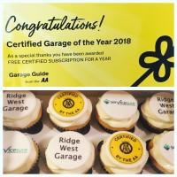 Ridge West wins AA Garage Guide's 'Certified Garage of the Year'