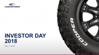 Investor Day: Cooper Tires outlines strategies