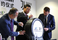 Juventus, Linglong Tire hold partnership ceremony in Turin
