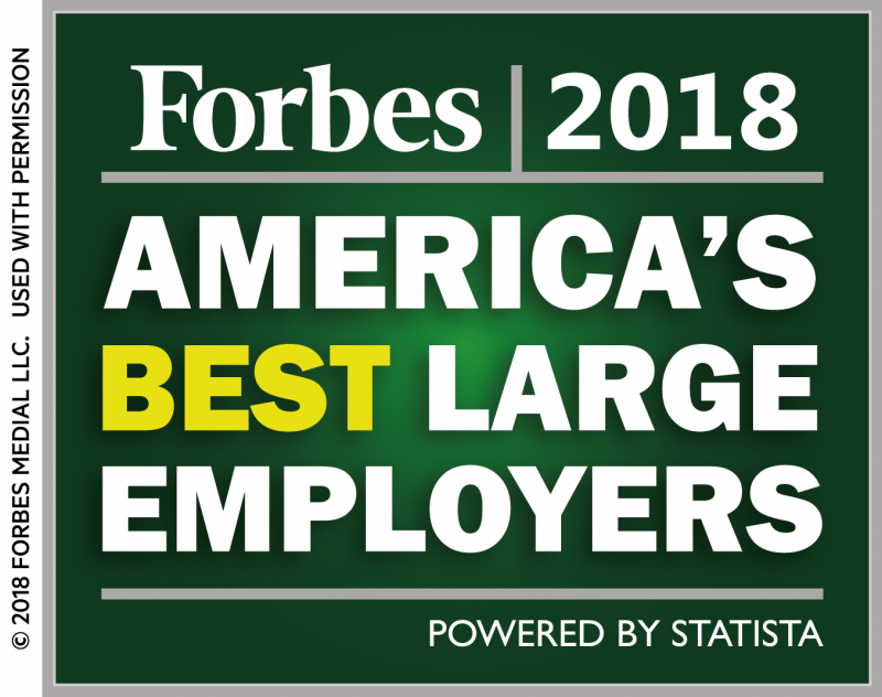 Forbes names Michelin 'America's Best Employer'