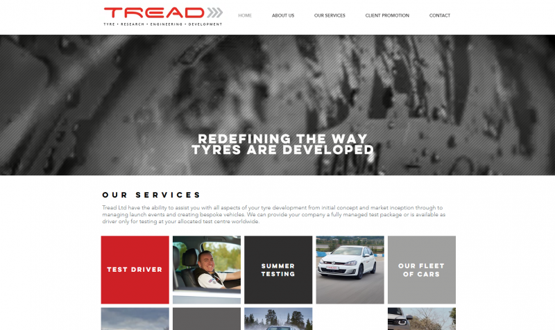 Tread updates web site with new services