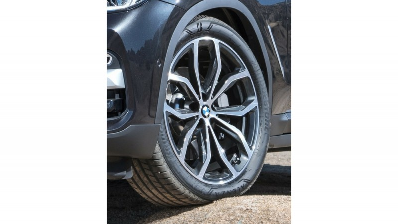 Bridgestone tyres OE on BMW X3