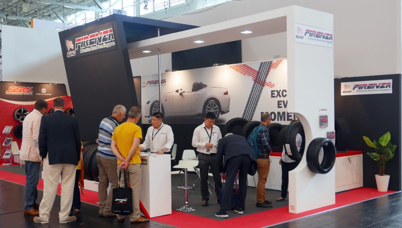 Stamford shows Thailand and Vietnam-produced tyres in Cologne