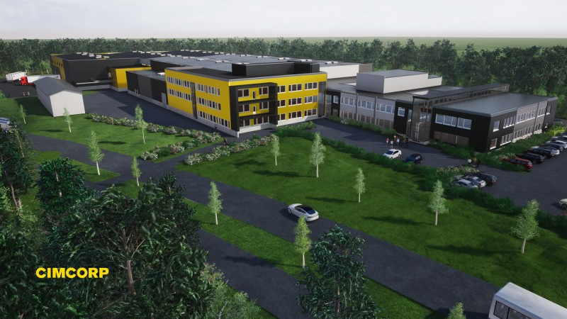 Cimcorp doubles building footprint in Finland production and office expansion