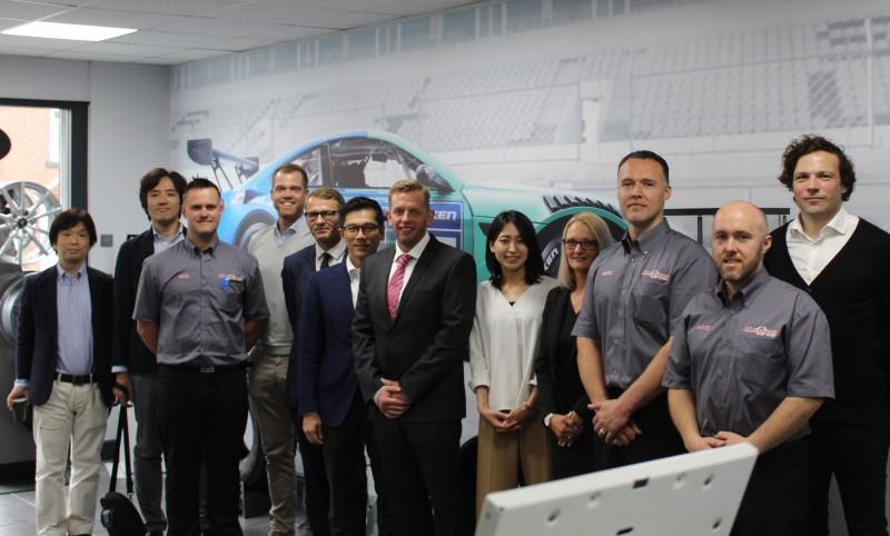 Staffordshire Falken Tyre specialist welcomes SRI representatives