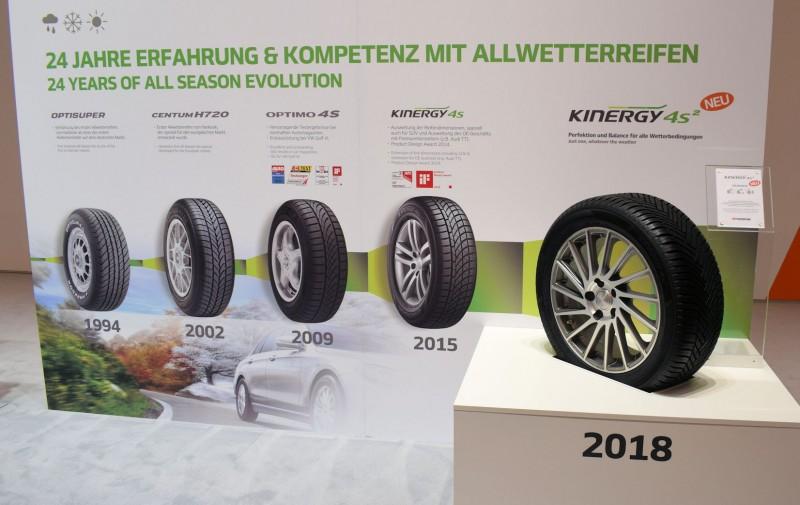 Hankook launches Kinergy 4S² all-season tyre