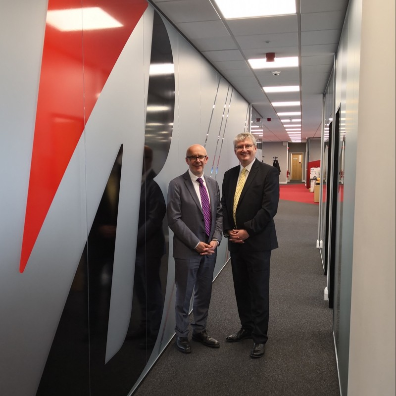Refurbished Bridgestone UK headquarters opens