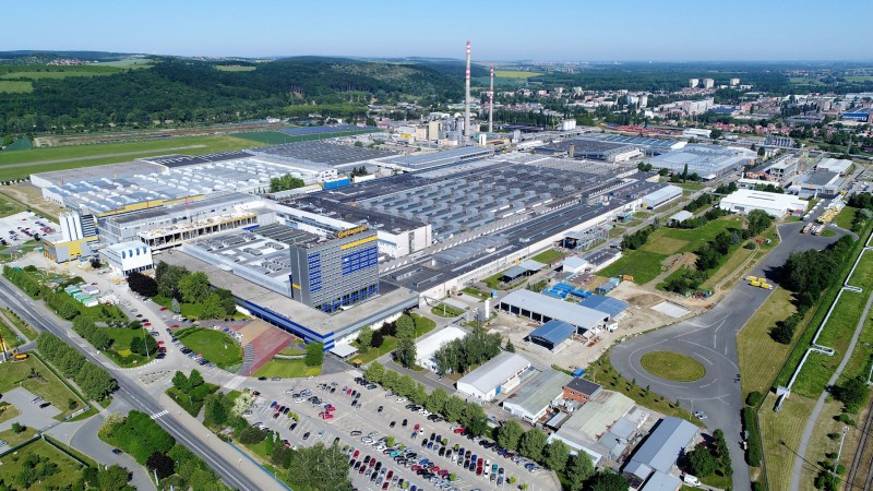 Otrokovice is the site of Continental's largest tyre production facility