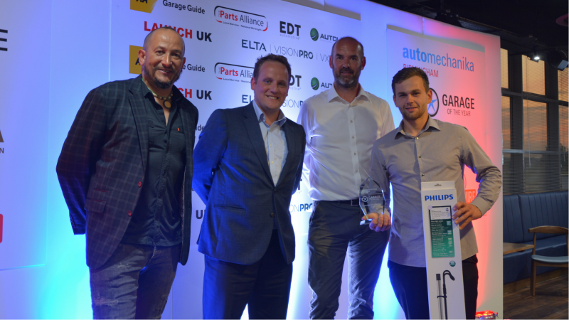 Lindleys Autocentres assistant manager takes home Auto-Mechanik of the year 2018