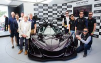 Michelin at Goodwood: Kudos for Apollo IE hypercar