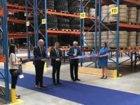 Trelleborg inaugurates material handling & construction tyre European logistics hub