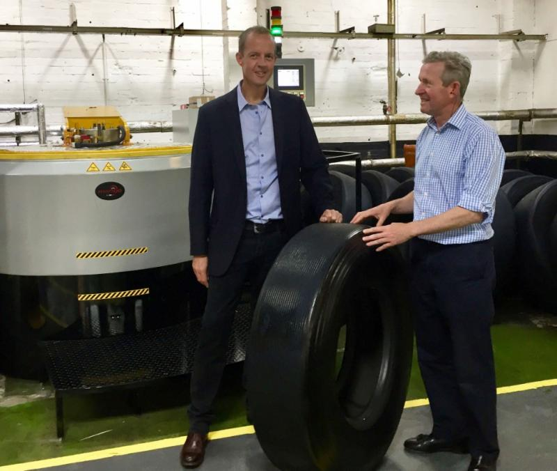 Nick Boles MP visits Vacu-Lug