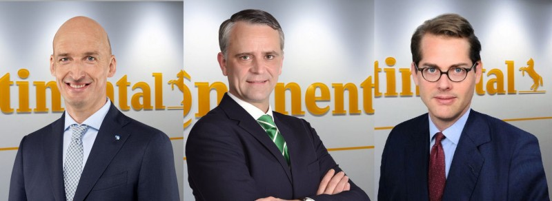Continental reorganises top management within Tire division
