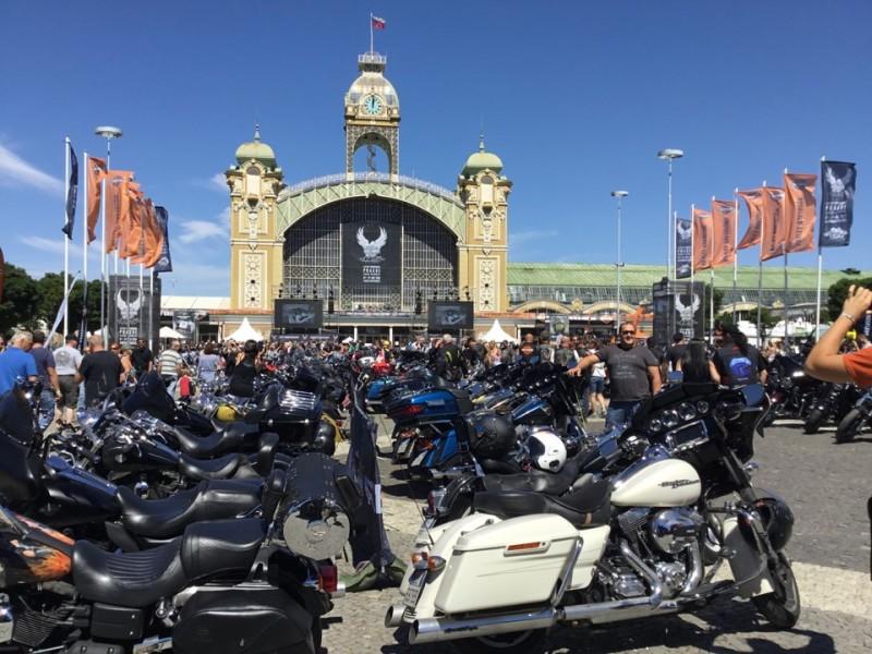 Strong Dunlop presence at Harley-Davidson anniversary festival