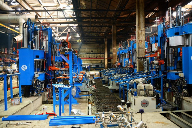 New hydraulic presses were delivered to the Rosava plant in May