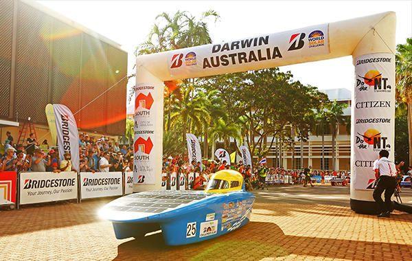 Bridgestone continues as World Solar Challenge title sponsor