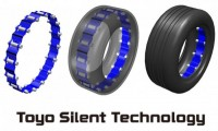 Toyo Tires unveils noise reduction technology