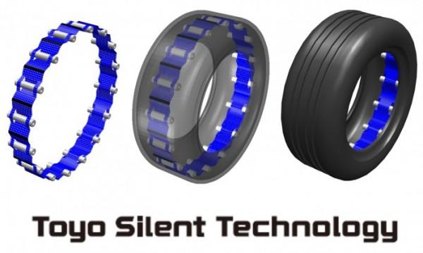 Toyo Tires unveils noise reduction technology