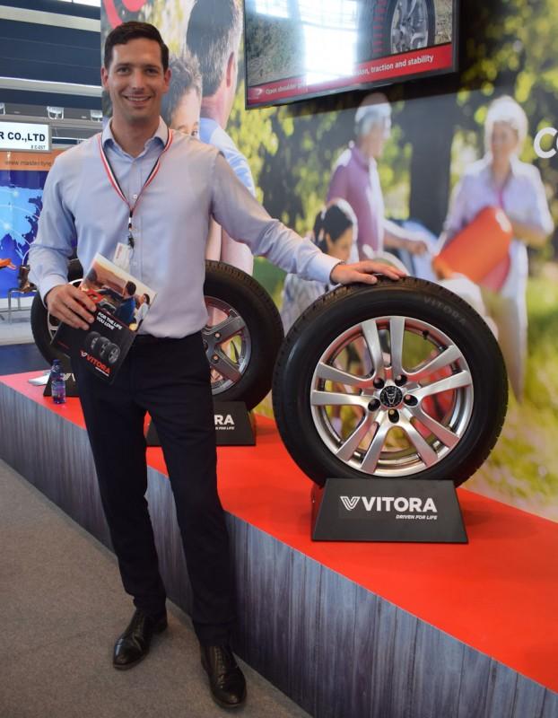 "Vitora tyre brand ""growing fast"""