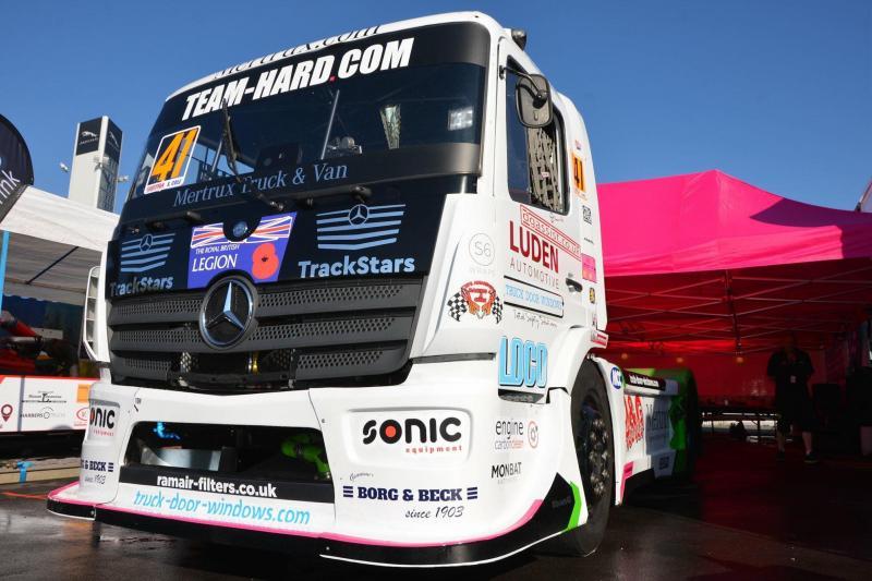 Borg & Beck makes British truck racing debut