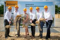 Continental breaks ground on new HQ project