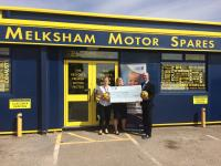 Melksham Motor Spares raises £7,500 following 50th anniversary trade show