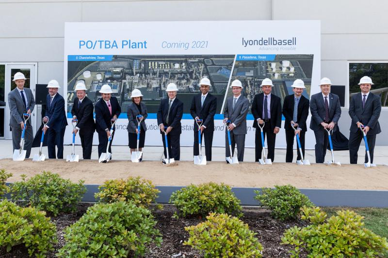 Groundbreaking held for mega chemical plant
