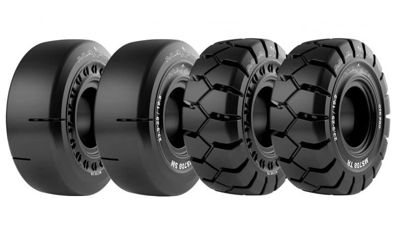 Maxam introduces MS708 solid OTR tyre