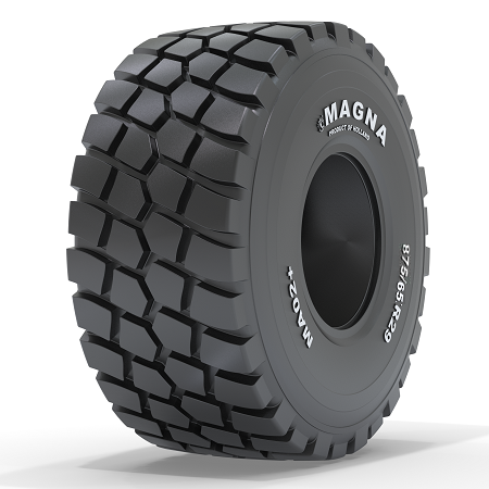 Magna Tyres introduces MA02+ for ADTs