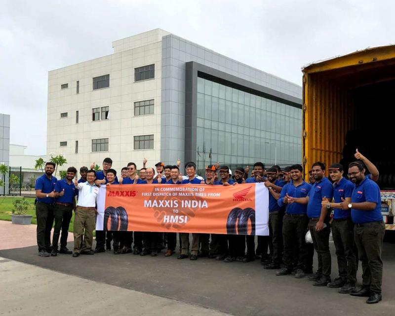 Maxxis aiming for 15% of India's two-wheel tyre market, planning additional factories