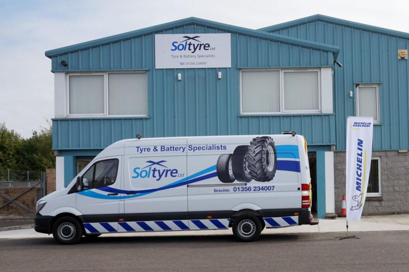 Second Soltyre branch gains Michelin Exelagri accreditation