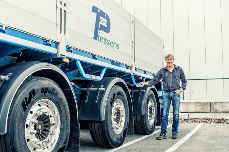First truck tyres shipped from Apollo Tyres' Hungary plant