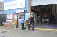Malvern garage becomes 100th new Servicesure site for 2018
