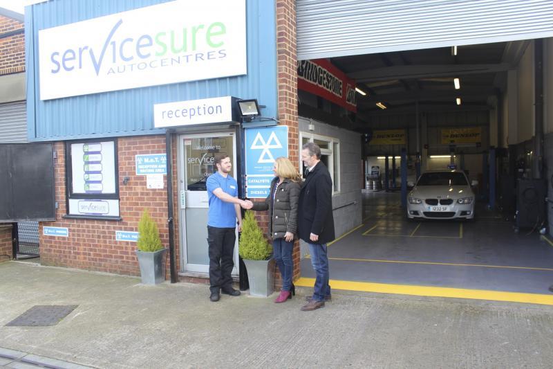Malvern garage becomes 100th new Servicesure site for 2018
