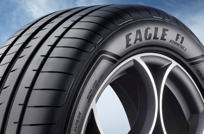 Goodyear tyres OE on Audi e-tron
