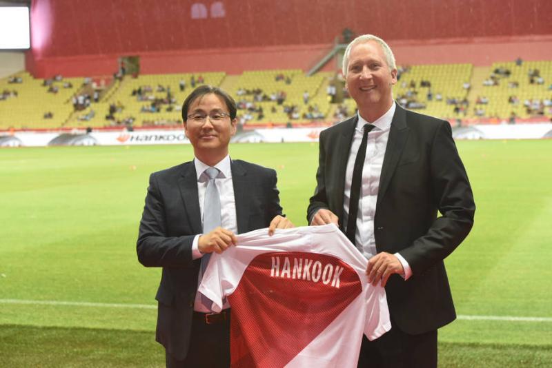 Hankook Tire sponsoring AS Monaco