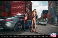 'Fast cars and beautiful women' – Liqui Moly introduces 2019 calendar