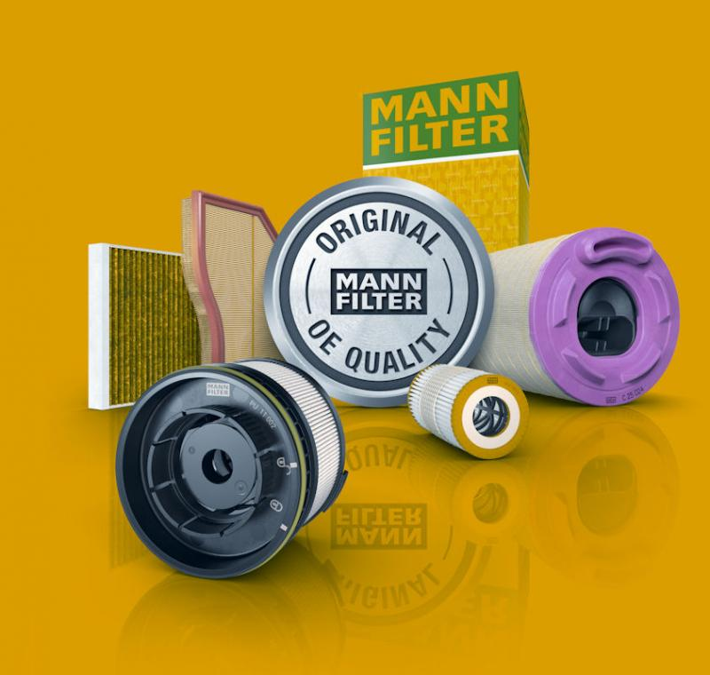 Mann-Filter: OE quality for the aftermarket