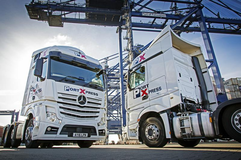 Port Express signs Vacu-Lug Tyre Management for compliance, efficiency