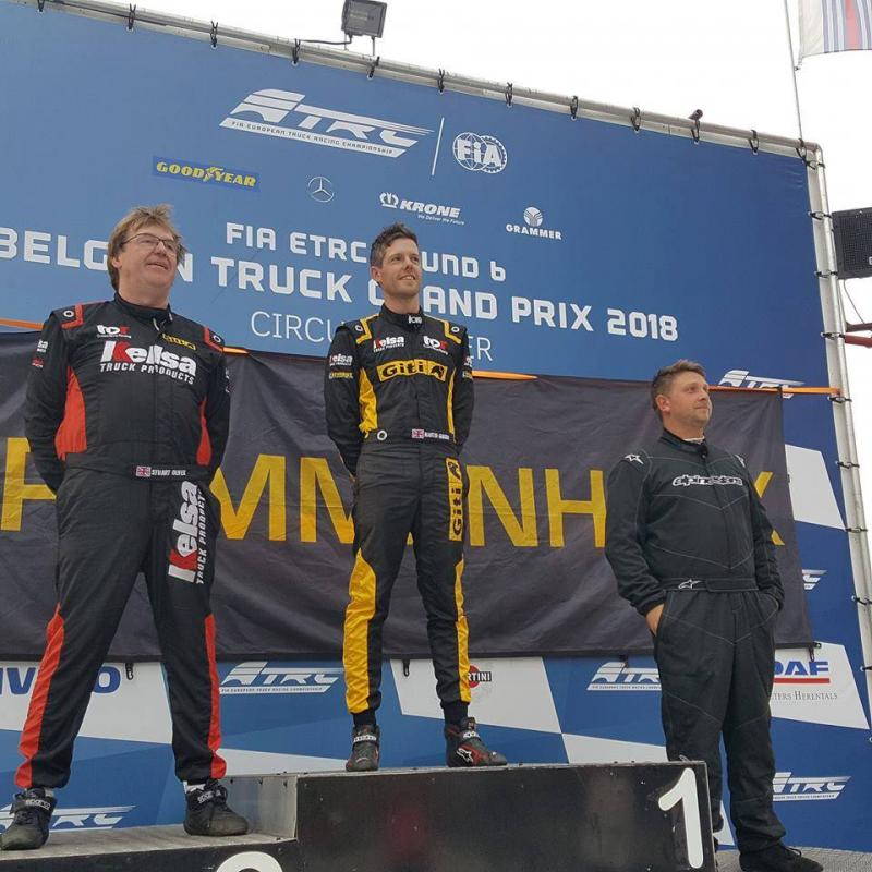 Giti Tire sponsored Team Oliver Racing secures 3 one-two finishes at Zolder