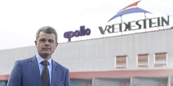 Benoit Rivallant named Apollo Tyres' European president