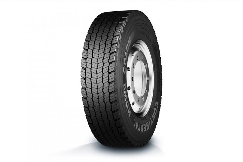 Continental introduces new drive axle winter tyre for coaches