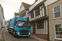 Falken's urban truck tyre proving itself in waste & recycling sector