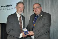 Dr Alan Muhr awarded the Hancock Medal