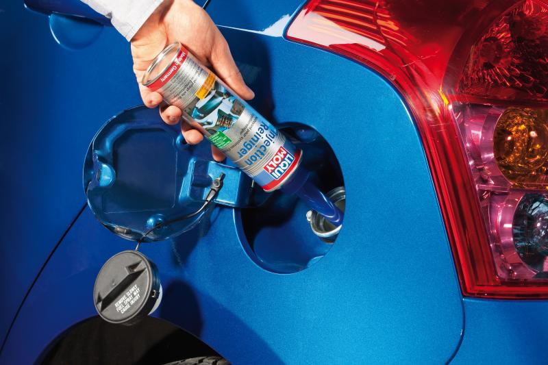 Liqui Moly Injection Cleaner frees engine from deposits, restores original performance