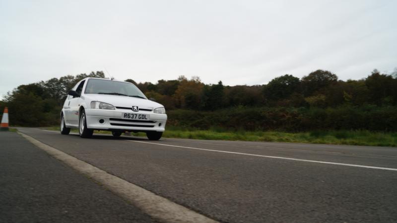 Peugeot 106 Rallye gets exhaust boost from Klarius
