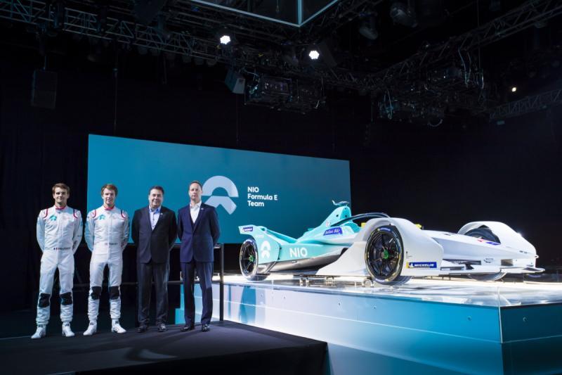 New car, driver line-up and official partner for NIO Formula E Team